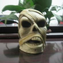 供应万圣节玩具恐怖搞怪面具搪胶玩具