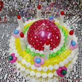 供应气球蛋糕/魔术气球蛋糕/气球造型装饰/气球布置