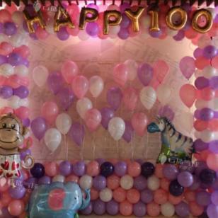 气球小景/气球装饰布置图片