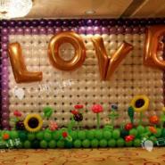 气球婚礼/婚房布置/婚礼气球装饰图片