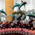 供应海洋主题装饰/海洋气球装饰/气球造型/气球装饰/气球布置
