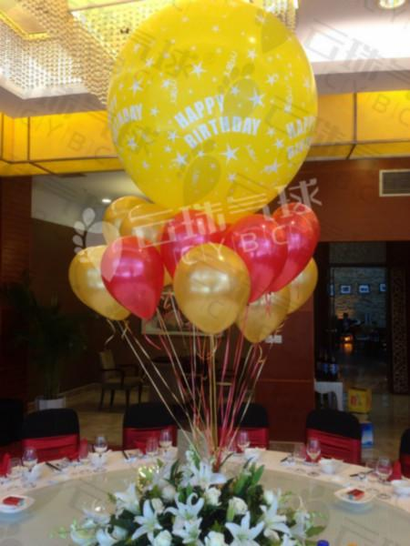 供应happybirthday气球生日气球
