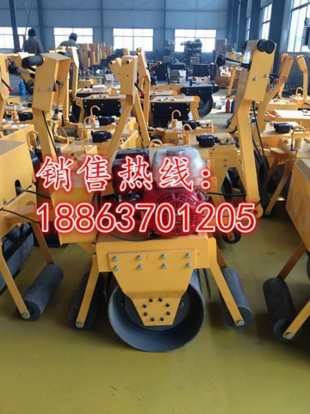供应单轮汽油压路机,手扶式单轮压路机价格 型号JYCB-600B