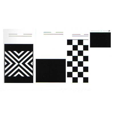 测涂料遮盖力简单快速有效维因纳直销的黑白卡纸