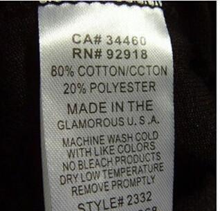 供应棉唛 布唛 产地唛 洗水唛 水洗唛 广州洗水唛厂家