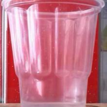供应250cc梅花造型圣代奶昔果冻双皮奶酸奶杯【2000个/箱】批发
