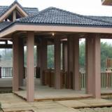 供应梧州塑木地板/塑木花箱/塑木花架,免费上门设计