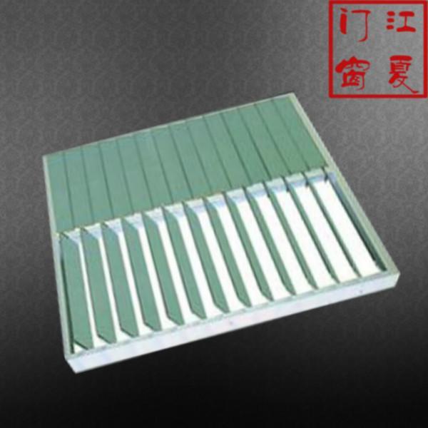 供应上海磨砂玻璃手动百叶窗电话图片