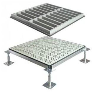 供应海南美露3号钢质通风地板/美露5号木芯防静电地板