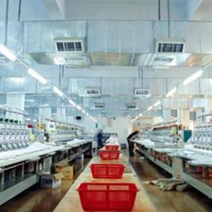 纺织车间工位降温图片