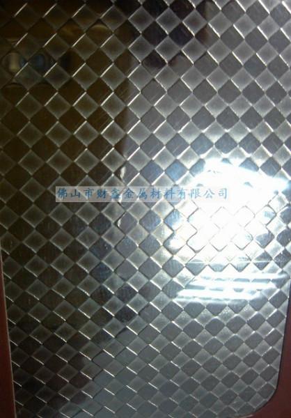 供应压纹不锈钢板
