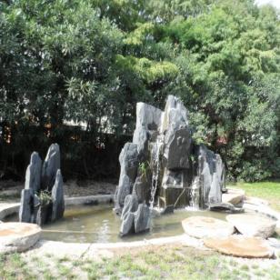 上海山水园林假山多少江苏钱图片