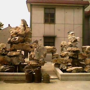 上海川沙太湖石假山制作价格图片