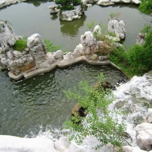 上海航头假山图片