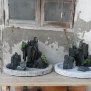 哪里的斧劈石假山盆景最便宜图片