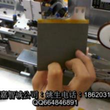 聚合物电池极片贴胶机 嘉智诚电池极片贴胶机 深圳软包电池贴胶机厂家 聚合物锂电池贴胶机价格 片贴胶机嘉智诚锂电池极片贴胶图片