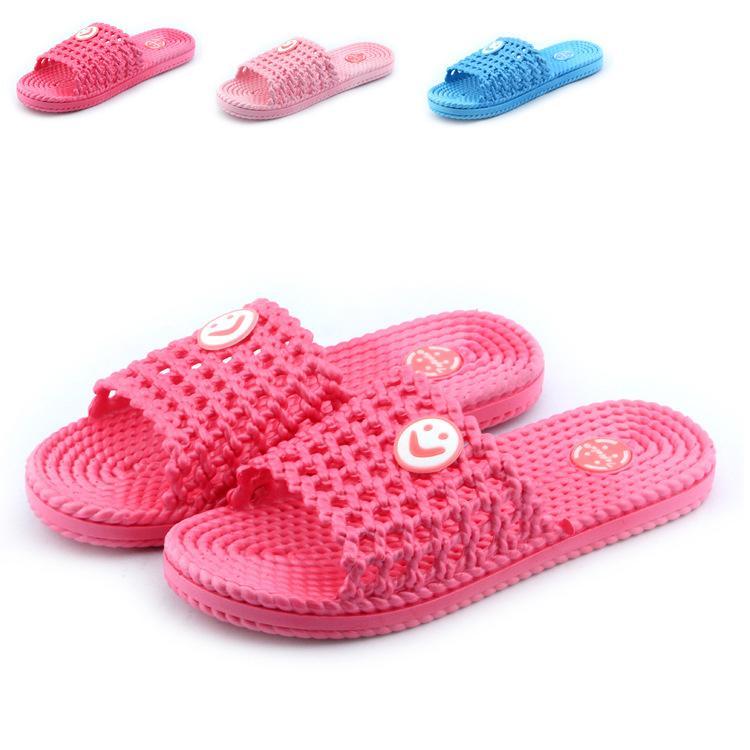 厂家批发直销新款时尚女式家居拖鞋 新款笑脸女式拖鞋 情侣款浴