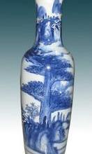 供应西安庆典花瓶销售西安开业大花瓶销售 西安锦绣山河青花落地花瓶