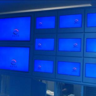 山东济南安防监视器拼接屏监控工程图片