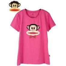 2014夏大嘴猴纯棉短袖T恤女香港paulfriend女装批发批发