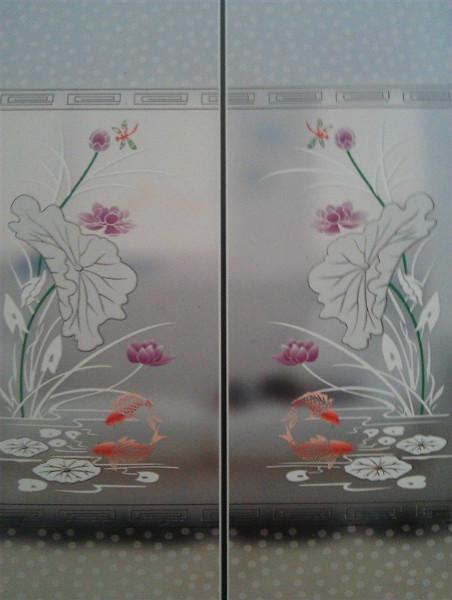 供应冰花玻璃最新报价图片