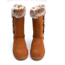 供应高筒女式雪地靴 雪地靴厂家 雪地靴生产厂家 雪地靴加工厂家图片