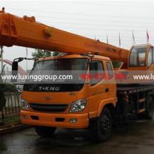 供应12吨汽车吊鲁星工程机械唐骏底盘12吨