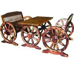 供应户外户内实木双人车轮椅厂家批发