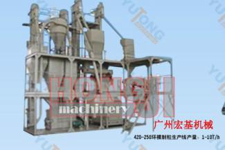 供应广东广州环模饲料颗粒机组 环膜饲料生产线 大型饲料生产线
