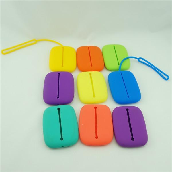 供应硅胶方形钥匙包