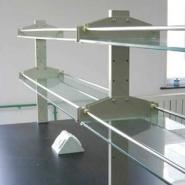 供应钢玻试剂架全钢结构