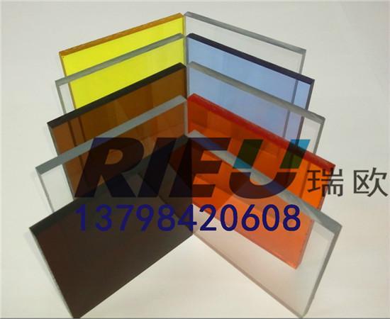 韩国颜色板有机玻璃亚克力板材销售