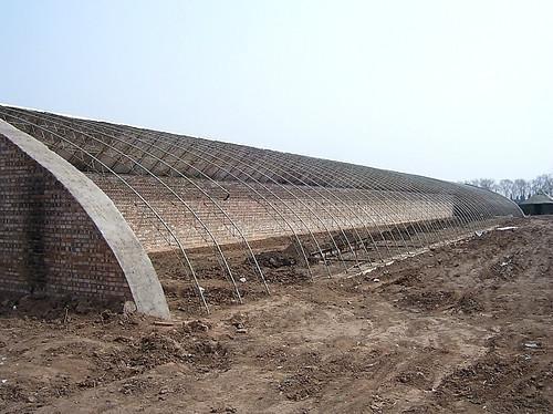 供应农业温室大棚建设多少钱图片