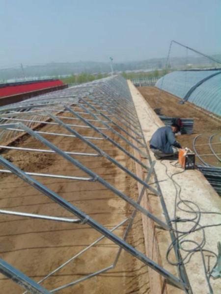 供应天津新式冬暖式温室大棚建造图片