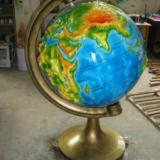 供应标准立体地球仪G座地球仪地理园教学 标准立体地球仪  地理园模型
