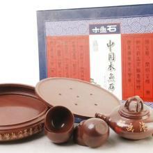 供应木鱼石茶具套装