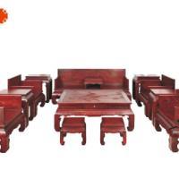 浙江东阳红木沙发 檀之韵沙发 缅甸花梨木沙发 红木家具艺术价值 图片|效果图