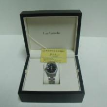 供应手表木盒黑色喷漆男士手表盒礼品盒包装定做图片