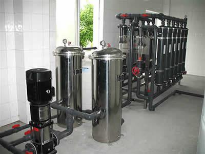 安徽颍上纯净水设备工艺图 水处理装置 RS-4T