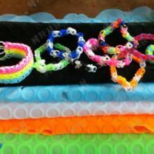 供应硅胶编织手环 编织皮圈 益智编织手环 儿童玩具