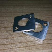 供应不锈拉丝板机械五金件激光切割加工图片
