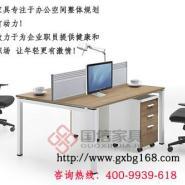 东莞办公家具简约时尚屏风桌图片