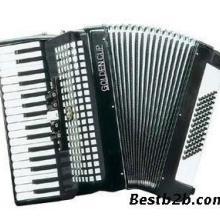 金杯JH202134键72贝司初学手风琴7/2变音三排簧键盘儿童批发