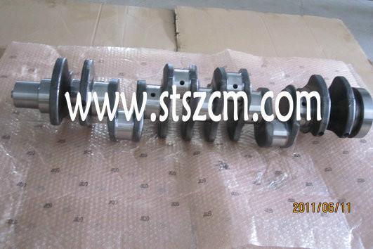 供应PC220-8曲轴,发动机曲轴,湖南小松挖掘机配件