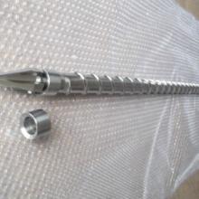 供应优质定做YJ甬江注塑机120螺杆,PVC专用螺杆,PC镀铬螺杆