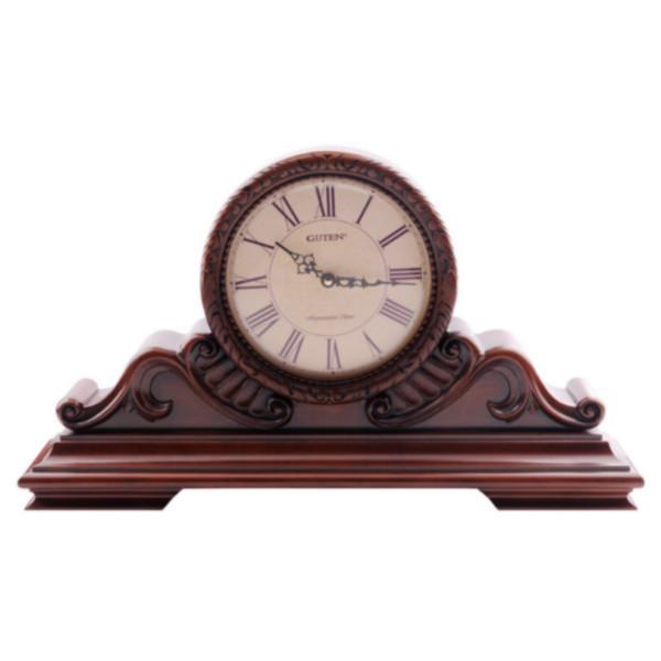 供应GD402-1高档实木座钟金钟宝进口实木外框系列座钟