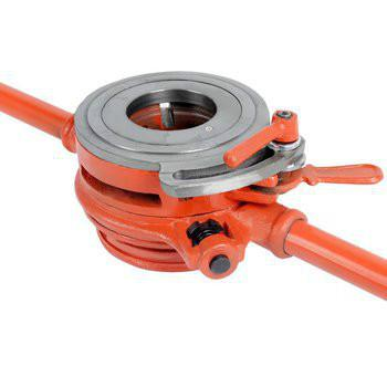 供应轻型管子铰板/114轻型管子铰板/2寸管子铰板/手动套丝机 手持