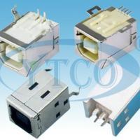 供应USBB型母座180°插板型