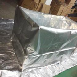 供应苏州五面鋁箔立體袋 铝箔立体平口袋
