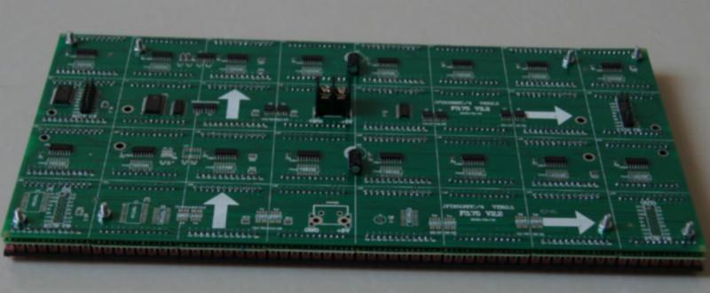 供应室内F3.75单色单元板,像素间距4.75mm